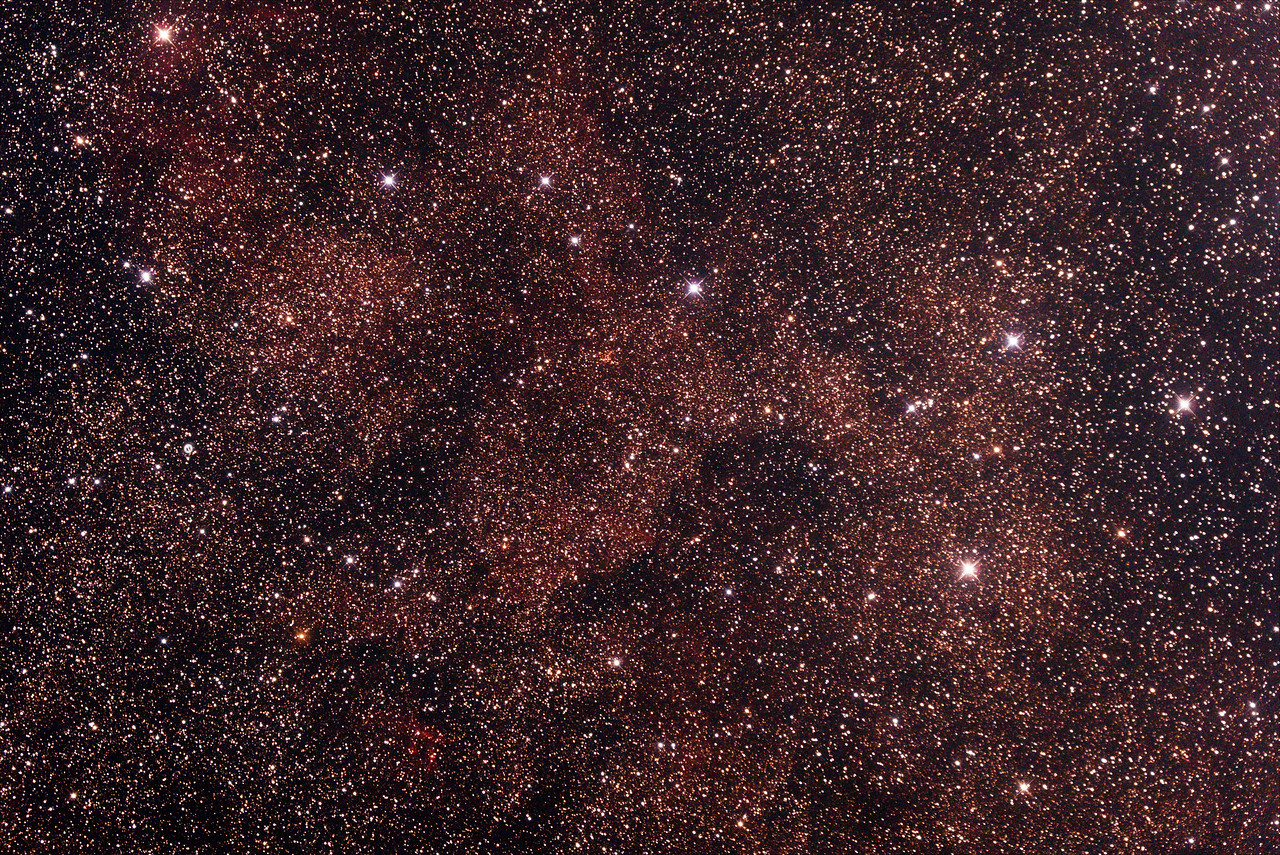 Gum 59 - Nebula in Scorpius - 27/6/2014 (Processed stack)