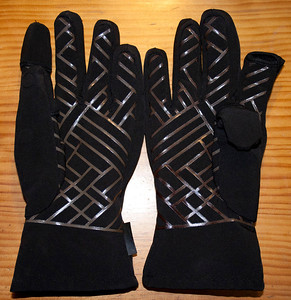 Gloves with free Index Finger and Thumb tips from B&H Phtographics USA late 2011.