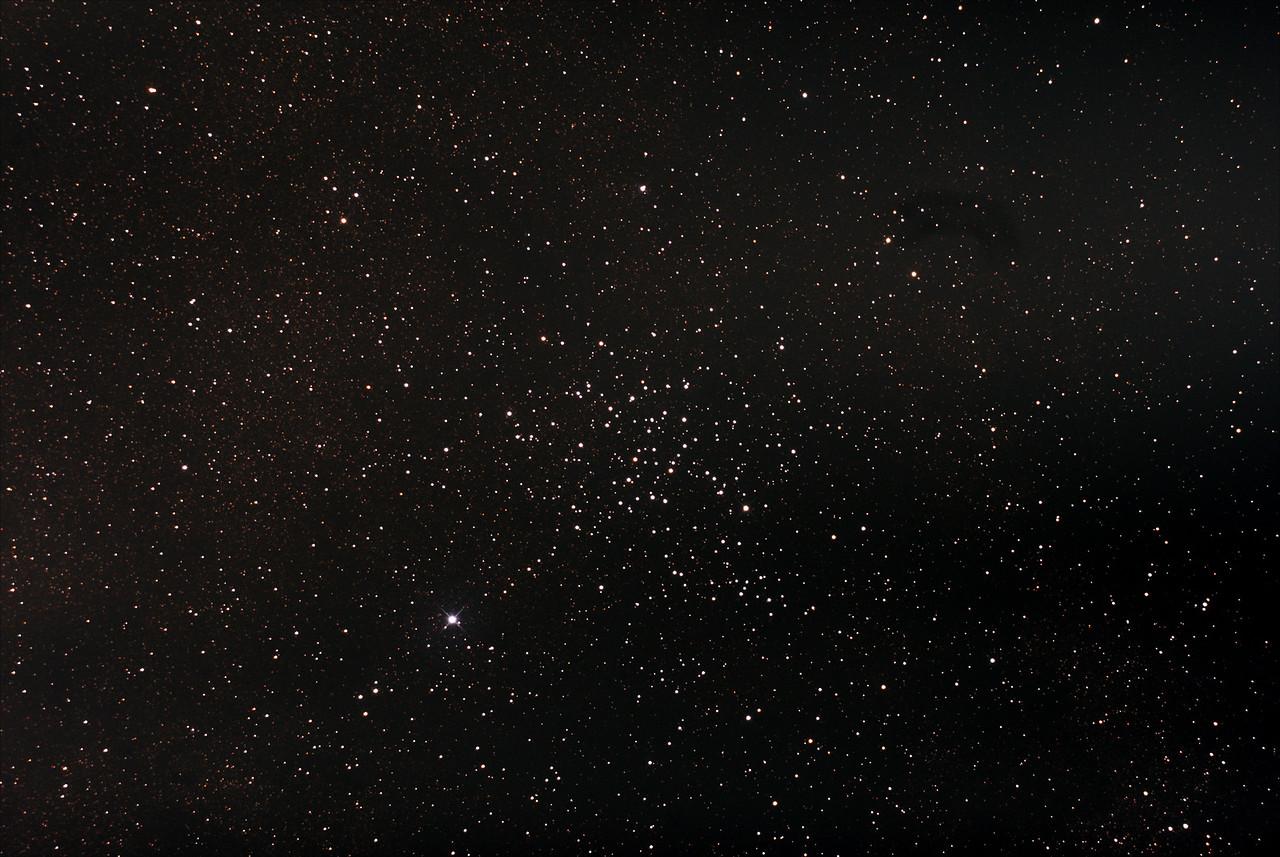 Messier M23 - NGC6494 - Sagittarius Open Cluster - 24/6/2015 (Processed stack)